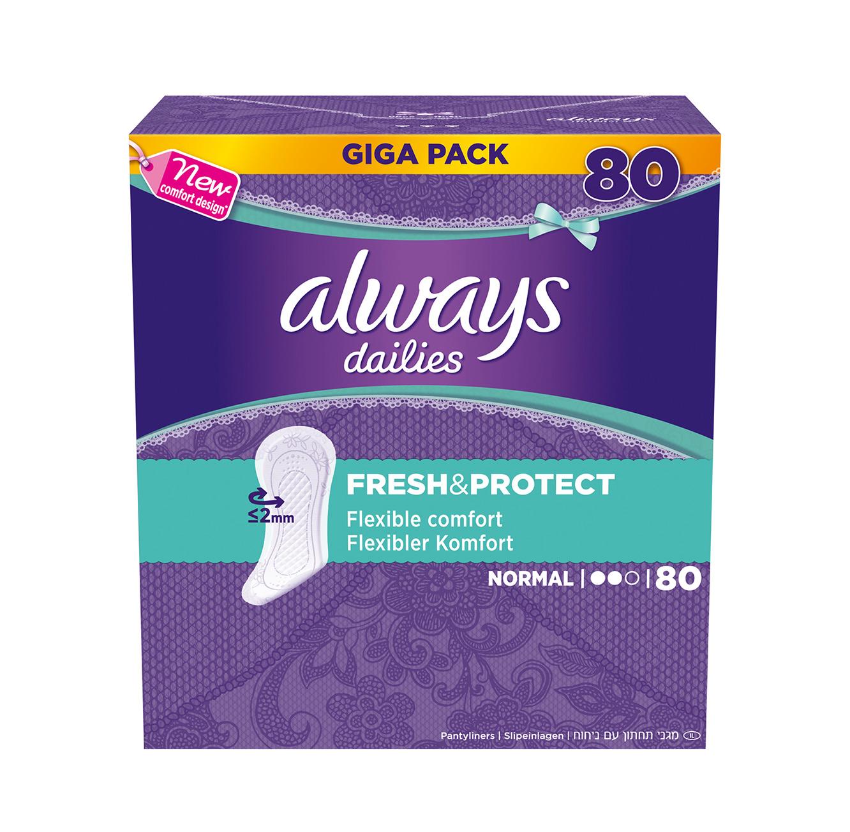 4 חבילות מגן תחתון מבושם Always Mega Pack בסוגים לבחירה