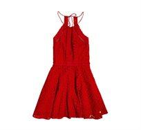 שמלת Teagan Halter לנשים - אדום