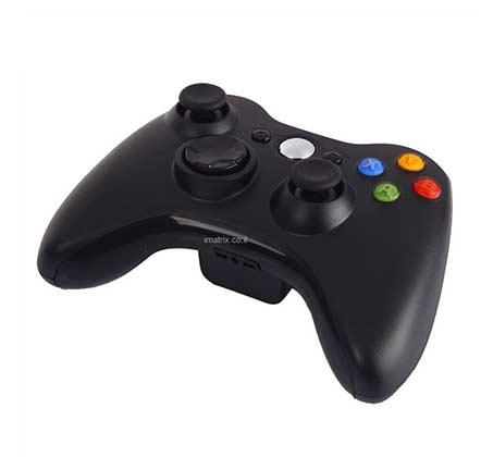שלט משחק  ג`ויסטיק אלחוטי תואם XBOX 360 WIRELESS CONTROLLER