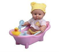 בובה באמבטיה - צהובה