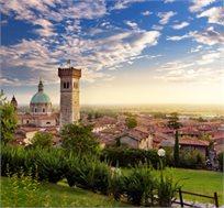 """6 לילות בצפון איטליה באוגוסט כולל טיסות, אירוח ע""""ב א.בוקר במלון 4* ורכב החל מכ-€719*"""