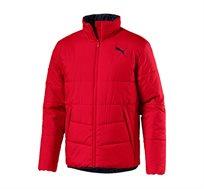 מעיל מרופד PUMA לגבר דגם L85159712 בצבע אדום