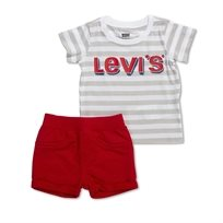 Levis תינוקות // Knit Short Set White