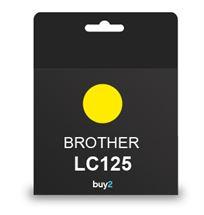 ראש דיו תואם BROTHER LC125 צהוב