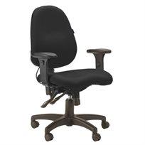 """כיסא אורטופדי דגם בזלת שחור ד""""ר גב"""