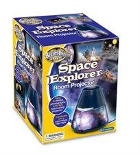 מנורת מקרן בנושא גלקסיות וחלל מבית בריינסטרום אנגליה