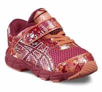 נעלי Asics לתינוקות וילדות דגם Noosa Tri 11 TS רכות וגמישות, בעלות סקוצ' וגומי לנעילה נוחה
