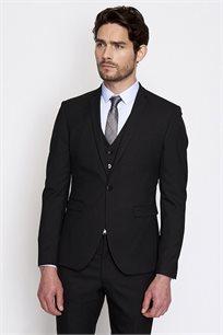 ג'קט חליפה אלגנטי לגבר DEVRED דגם 4053082 בצבע שחור