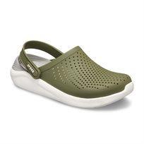 Crocs Literide Clog - כפכף בטכנולוגיית לייט-רייד בצבע ירוק זיתלבן