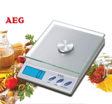 מותג חדש דיוק עד הגרם האחרון: משקל מטבח דיגיטלי מבית AEG בעל עיצוב חדשני YK-83