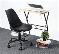 כסא למשרד ולבית דגם בילי בריפוד עור סינטטי