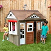 בית נוף כפרי - בית עץ לילדים מפואר ומאובזר לבניה עצמית מהירה