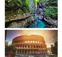 טיול מאורגן ל-8 ימים בסלובניה איטליה ואוסטריה החל מכ-$727*