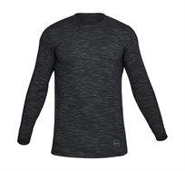 חולצת אימון ארוכה אנדר ארמור לגבר 1306465-001 - אפור