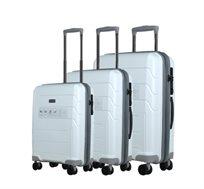 סט מזוודות 3 גדלים - צבע לבחירה