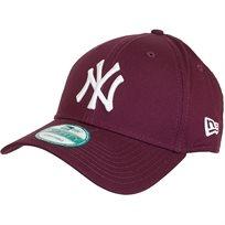 New Era גברים// כובע League Essential Dark Red