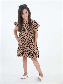 שמלה מסתובבת אל חום ילדים סטייל ריבר