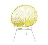 כסא ביצה יחיד מעוצב במבחר צבעים
