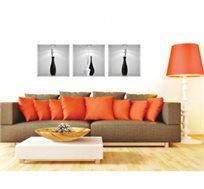 מדבקת קיר - קלאסיק מסדרת Touch Of Art, לעיצוב הסלון, המטבח, חדרי שינה ועוד