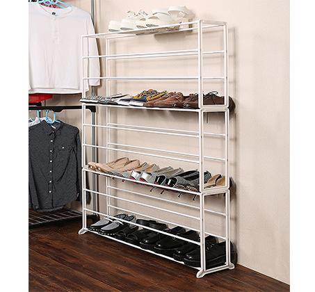 ארון נעליים קל ומודולארי מתאים לכל חדרי הבית מתאים עד ל-50 זוגות HOMAX דגם ארסוף - תמונה 3