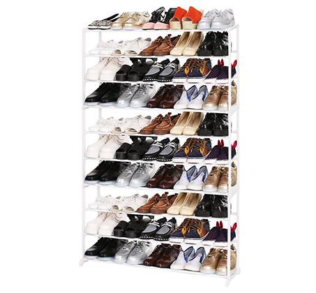 ארון נעליים קל ומודולארי מתאים לכל חדרי הבית מתאים עד ל-50 זוגות HOMAX דגם ארסוף - תמונה 5
