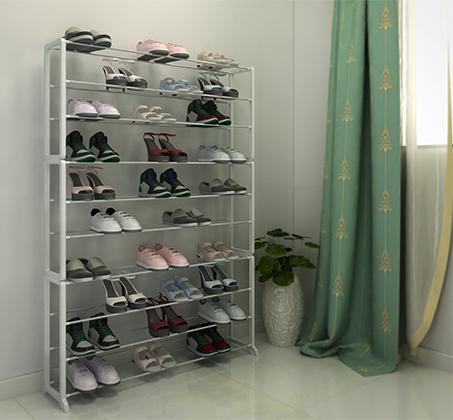 ארון נעליים קל ומודולארי מתאים לכל חדרי הבית מתאים עד ל-50 זוגות HOMAX דגם ארסוף - תמונה 2