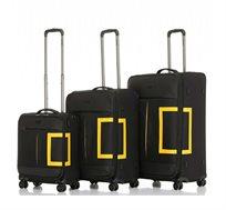 """מזוודה דגם """"TRAVELLER NGO-10 24 צבע לבחירה"""
