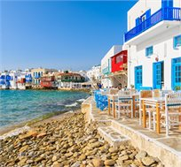"""חבילת טיסות ומלון למיקונוס ל-3,4 או 7 לילות ע""""ב ארוחת בוקר החל מכ-€559*"""