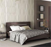 מיטה זוגית עם 2 שידות תואמות דגם NOVA בגימור יוקרתי ובעיצוב נקי ומוקפד HOME DECOR