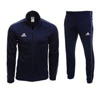 חליפת אימון לגבר ADIDAS דגם CORE 18 PES בצבע כחול כהה CV3563//CV3585