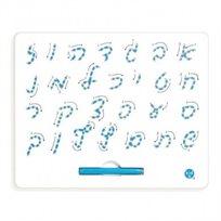 לוח מגנטי- אותיות בעברית, כתב