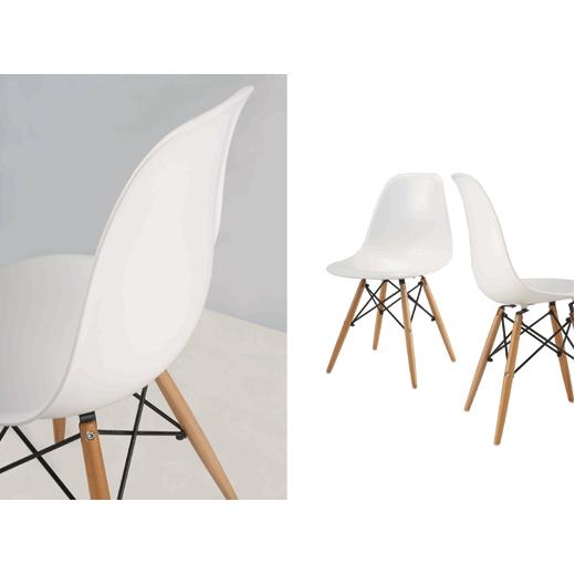 כיסא מעוצב לפינת אוכל דגם URSULA במגוון צבעים לבחירה מבית BRADEX - תמונה 6