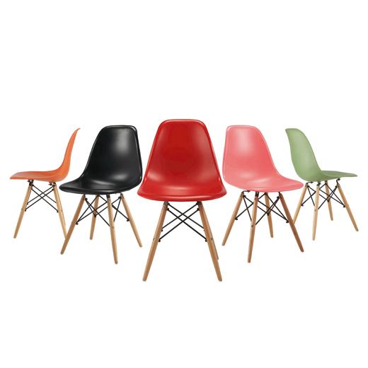 כיסא מעוצב לפינת אוכל דגם URSULA במגוון צבעים לבחירה מבית BRADEX - תמונה 5