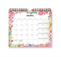לוח שנה ספירלה בינוני 2019 שרי