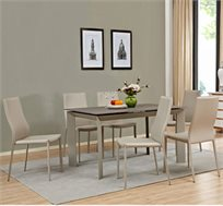 פינת אוכל כוללת שולחן ו4 כסאות CASTOR
