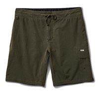מכנסי גלישה לגברים Reef דגם Creek עם כיס צדדי בצבע ירוק