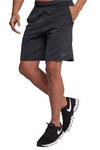 מכנסי ספורט קצרים לגברים - אפור