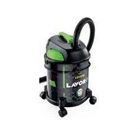 שואב אבק יבש / רטוב LAVOR דגם RUDY 1200 S להסרת לכלוך יבש ורטוב