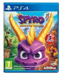 Spyro The Dragon Reignited Trilogy Ps4 אירופאי!