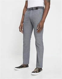 מכנסי צ'ינו סטרץ' עם חגורה