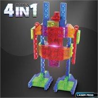 לייזר פגס - קיט רובוטים עם מקור כח נייד  4 ב 1
