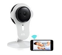 מצלמת IP קומפקטית עם מיקרופון ורמקול לצפייה מרחוק