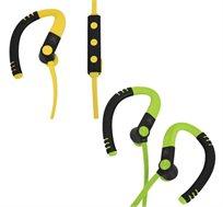 אוזניות סיליקון בלוטות' גירסא 4.1! מותאמות לפעילות ספורטיבית נוחות וקלות מאוד!  דגם HS-390BT