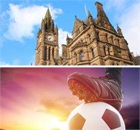 4 לילות במנצ'סטר + כרטיס למנצ'סטר יונייטד מול מנצ'סטר סיטי רק בכ-£784*