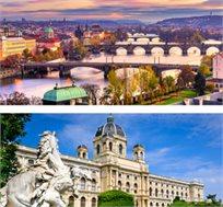 מראות קסומים- טיול מאורגן לפראג, ברטיסלבה ווינה ל-8 ימים החל מכ-$656*