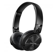 אוזניות אלחוטיות איכותיות בסגנון DJ דגם Philips SHB3060BK - משלוח חינם!