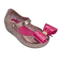 נעלי בובה לילדות MINI MELISSA - זהב ורוד