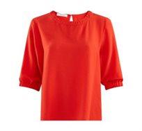 חולצת משי שרוולי 3/4 Promod לנשים - צבע לבחירה