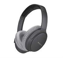 אוזניות בלוטוס מתקפלות עם מיקרופון מובנה מסנן רעשים אקטיבי דגם ANC-001