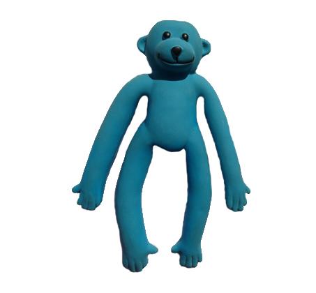 קופיף חזק מצפצף, משחק לטקס לכלבים גמיש וחזק עם צפצפה מוחבאת המעודדת את הכלב לשחק - תמונה 3
